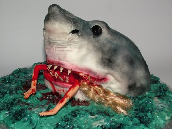 Sharks eating people
