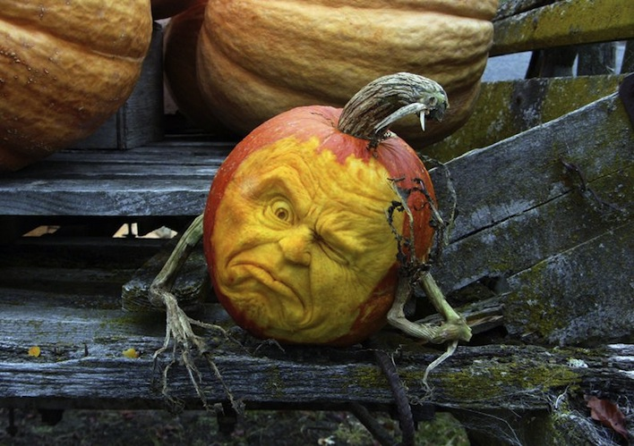 worried pumpkin